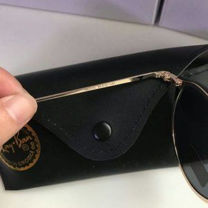 Ray-Ban Black Sunglasses 3574 59mm